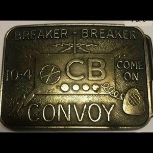 Breaker breaker belt buckle